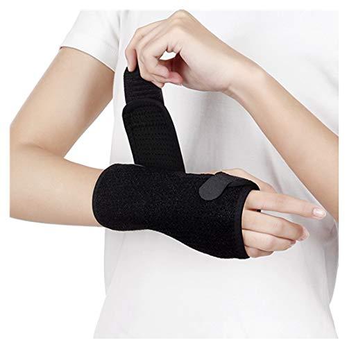 Links + Rechts, Aluminium-Streifen-Support-Armband, Breathable Doppelseitiger Mesh-Armband, Handgelenk Verstauchten Maus-Hand für Frauen