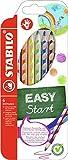 STABILO EASYcolors, Matita Colorata Ergonomica per Destrimani, Astuccio da 6, Colori Assortiti
