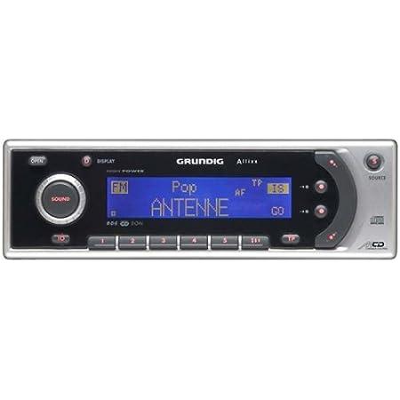 Grundig Scd 5490 Rds Allixx Autoradio Mit Cd Elektronik