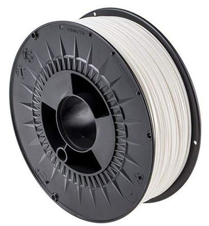 RS PRO 1.75mm White PLA 3D Printer Filament, 2.3kg