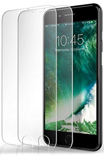 Película de Vidro Temperado iPhone 8 Plus / 7 Plus Caseology Ultra Slim HD Transparente 9H Anti-Queda, Alta Compatibilidade Com Capas (Com 2 Unidades)