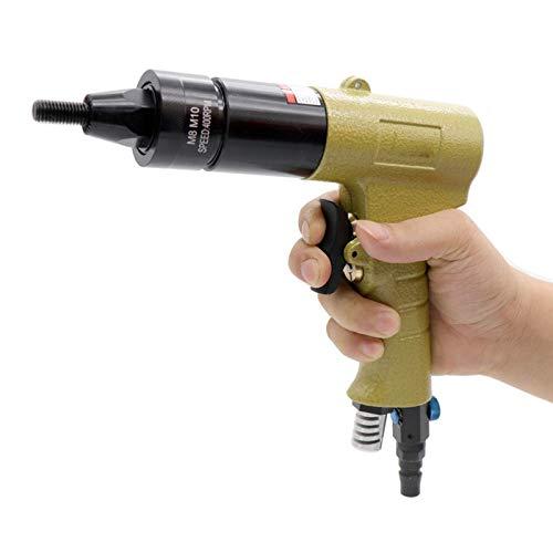 FEEE-ZC Pistolas de Tuercas de Remache de Aire neumáticas, remachadores de remachadores roscados de inserción, Tuercas de remachado, Herramienta Rivnut para Tuercas M10 M12