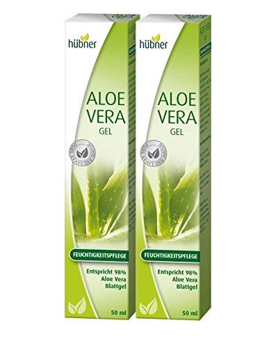 Hübner Aloe Vera Gel Körpergel - Doppelpack (2x100ml)