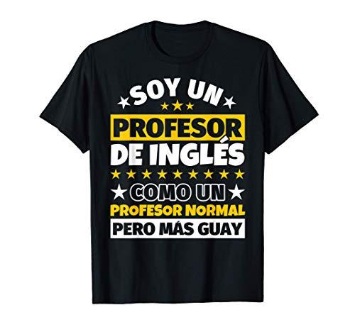 Hombre Profesor de Inglés Regalo Camiseta