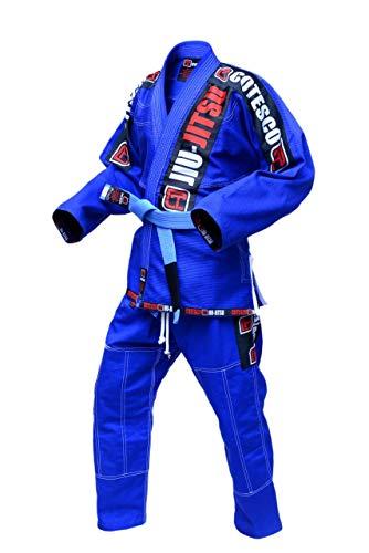 COTESCO Best 450 GSM Braziliaanse Mma Ovaal Groen Ultra Licht Bjj Patches Gi Jiu Jitsu Gi Gear Kleding Kimono Pearl Weave 100% Katoen Uniform Suit Te Koop