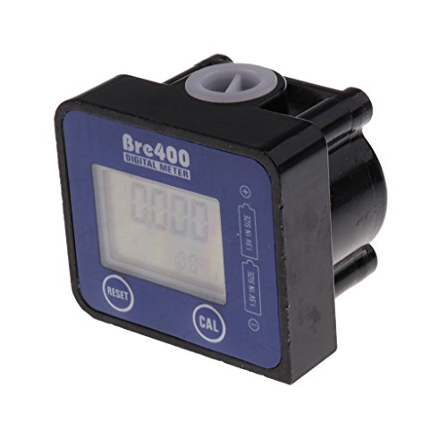 perfk 1-30L / min Elektronische Durchflussmesser für Messung Von Aller Arten von Flüssigkeiten Wasser, Öl