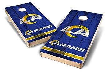 PROLINE NFL Los Angeles Rams 2 x4  Cornhole Board Set - Vintage Design