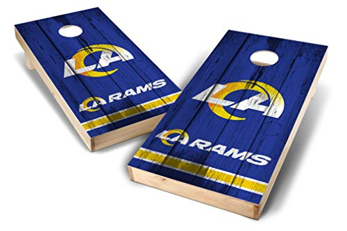 PROLINE NFL Los Angeles Rams 2'x4' Cornhole Board Set - Vintage Design