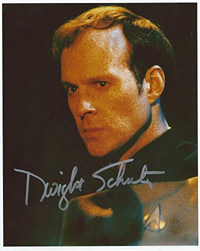 Star Trek the Next Generation Lt. Barclay Signed Autographed by Dwight Schultz 8x10 Photo