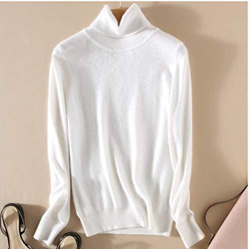 WQDS Autumn and Winter Cashmere Turtleneck Sweater Women