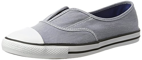 Converse Damen Chuck Taylor All Star Cove Slip Ox Slip-On, azurblau/weiß, 37 EU