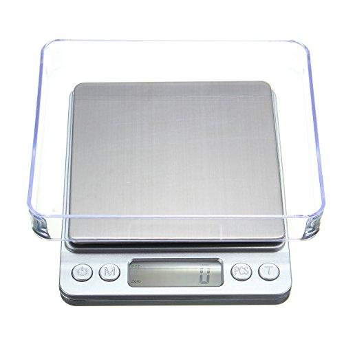KUNSE 1000G/0.1G Mini LCD Digital Escala De Bolsillo Peso De La Joyería Balance Electrónico Gramo