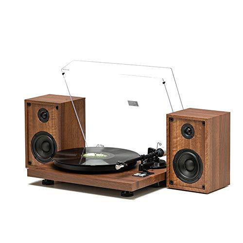 For Sale! LVSSY Vinyl Record Player Bluetooth Record Playe LP Nostalgic Retro Record Player Soft Dec...