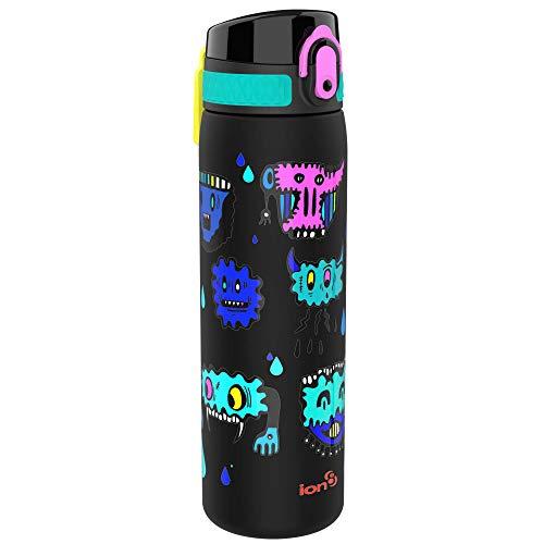 Ion8 Botella Agua Sin Fugas, Sin BPA, 500ml, Hasworld