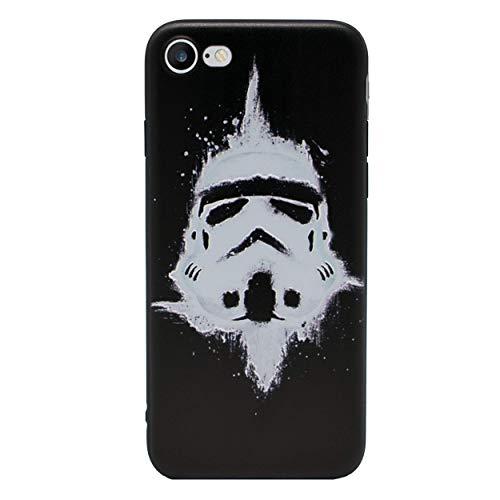 iPhone 5/5s 3D Marvel siliconen hoes/gel hoes voor Apple iPhone 5s 5 SE/scherm bescherming en doek/iCHOOSE/Stormtrooper