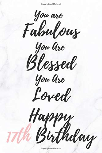 You Are Fabulous Blessed And Loved: notebook/journal glossy finish cover, notebook for women , notebook for girls, 6*9 inches 120 pages / 60 sheets , perfct as a gift  , for writing , taking notes...