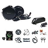 Bafang BBSHD BBS03 48V/52V 1000W Kit de conversión de Bicicleta eléctrica de Medio Motor con batería E-Bike Batería de Litio 52V17.5AH/21AH