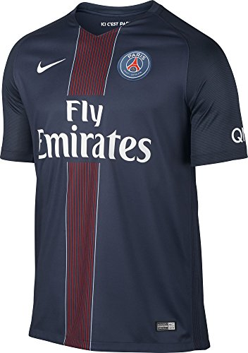 Nike Paris Saint Germain 2016/2017 Home Soccer Jersey (Midnight Navy) X-Large