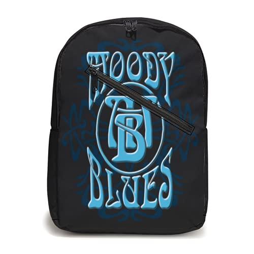 The Moody Blues Zaino Ragazzi Ragazze Zaino Regolabile Daypack Viaggio Laptop Zaino