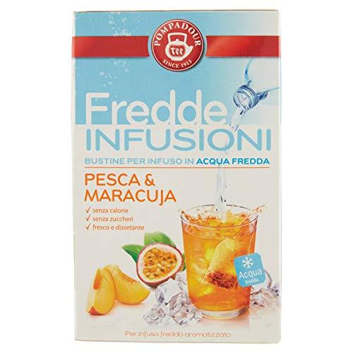 Pompadour Fredde Infusioni, Pesca Maracuja - 18 Filtri