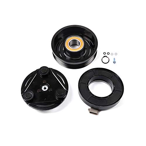 ROADFAR Air Conditioning Compressor Clutch Kit fit for CO 101510C 1997 1998 1999 2000 2001 2002 2003 2004 2005 2006 F-ord F-150 4.2L 4.6L