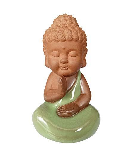 FengShuiGe Mini Figurine Buddha Statue - Sitting Buddha 3 Inch