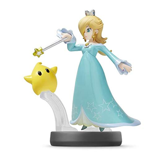 Luckly77 Amiibo - Rosalina - Colección Exquisita Super Smash Bros. Serie Figura, Paisaje Multicolor Decoración Adornos