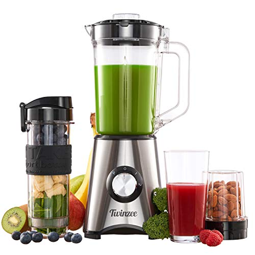 Batidora, Blender Smoothie, 700W Batidora Multifuncion