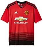 adidas Kinder 18/19 Manchester United Home Trikot, real red/Black, 176 EU