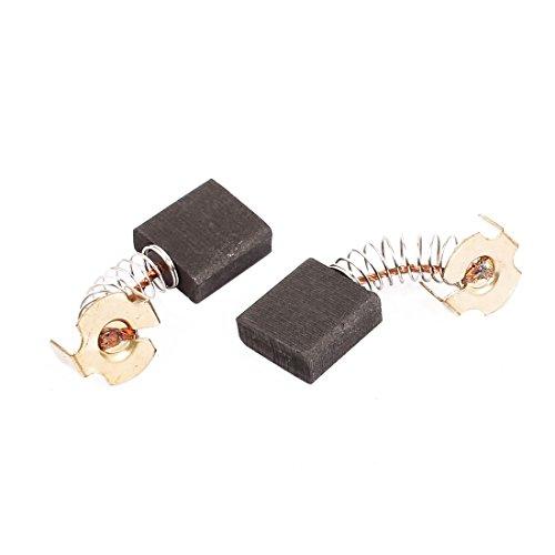 Aexit Paar 17 x 17 x 7mm Kohlebürsten-Elektrowerkzeug für elektrische Bohrhammermotoren (1bc7d080a3354a1dfdb9a80085293f14)