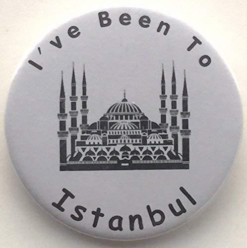 I ve Been To Istanbul 59 mm-Miroir Fantaisie à l'arrière
