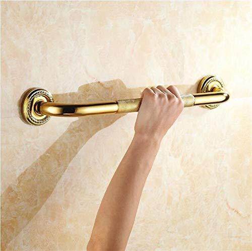 Gold Messing Badezimmer Badewanne Dusche Safety Bar Grabbar Anti-Rutsch Griff Hand Griff Badezimmer Handlauf für ältere Kinder Personen
