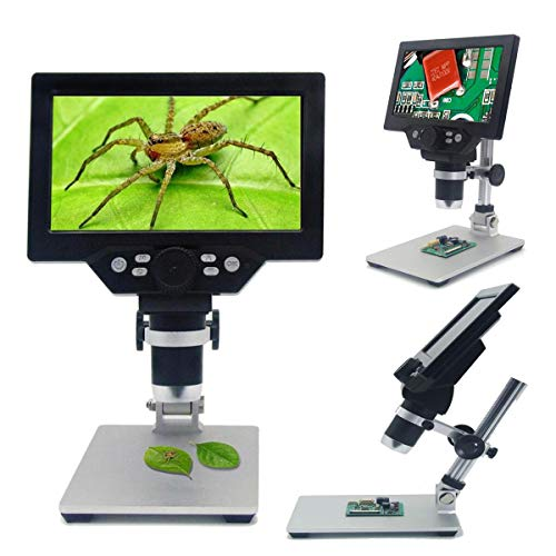 G1200 12MP Digital Microscope for Soldering Electronic Microscopes Continuous Amplification Magnifier