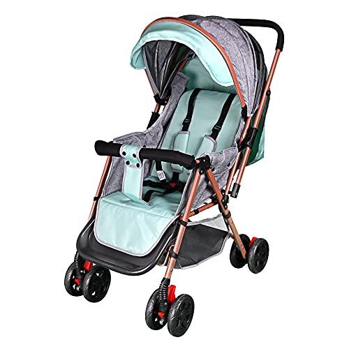 Kinderwagen Buggy, Kinderwagen Klappbarer Mit 5-Punkt Sicherheitsgurt, Kinderbuggy, Babywagen Mit Liegefunktion
