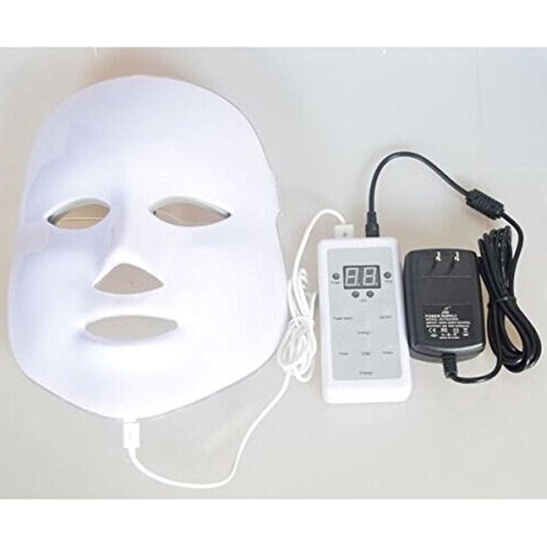 効率的更新する損傷LED美顔器 7色 美顔マスク 美容 たるみ ほうれい線 美肌 ニキビ対策 コラーゲン生成 美白 エイジングケア