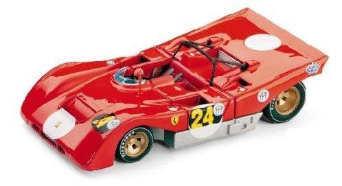 FERRARI 312 PB N.24 1000 Km B.AIRES 1971 I.GIUNTI 1:43 Brumm Auto Competizione modello modellino die cast