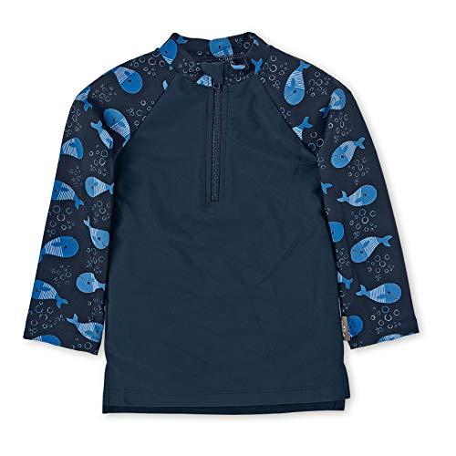 Sterntaler Jungen Langarm-Schwimmshirt, UV-Schutz 50+, Alter: 2 - 3 Jahre, Größe: 86/92, Farbe: Marine