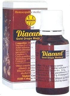 Diacard Gold Drops Madaus 25ml New