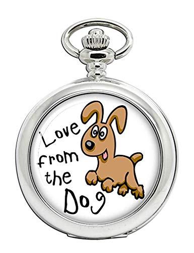 Amor Desde el Perro Reloj Bolsillo Hunter Completo