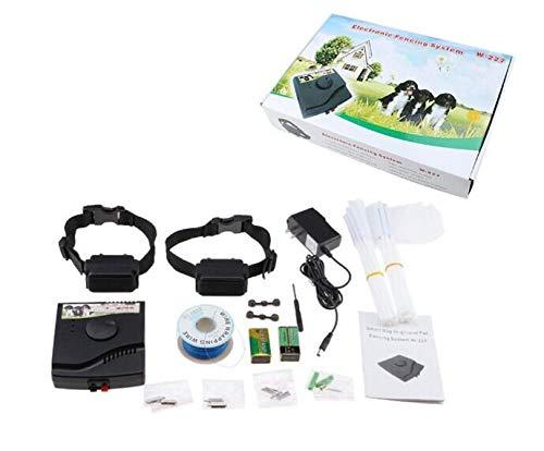 Sistema de Valla para Perros Cerca Eléctrica para Perros, Sistema Anti-Escape