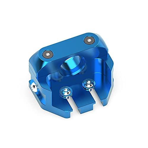 All Metal V6 Mount Adapter for Upgrade Creality Ender 3 V2 Ender3 Pro Ender 5 Pro CR-10 3D Printer with High Temperature Dragonfly V6 Hotend