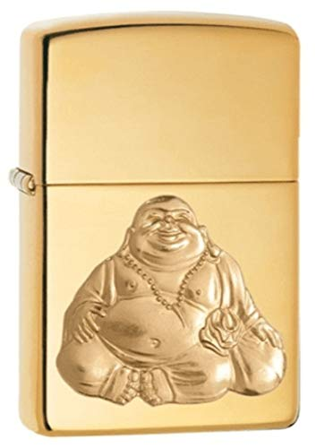 Zippo Laughing Buddha Pocket Lighter