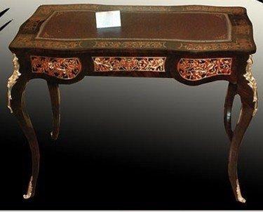 LouisXV Barocco scrivania Stile Antico Bureau Plat mosr0821