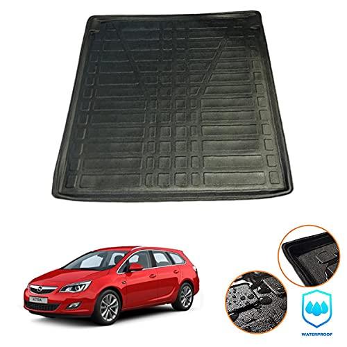 Connected Essentials CEB-100 - Tappetino per bagagliaio su misura per Opel Astra J Estate (2011-2015)