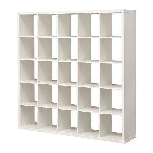 IKEA(イケア) KALLAX シェルフユニット, ホワイト(182x182cm)(80305733)