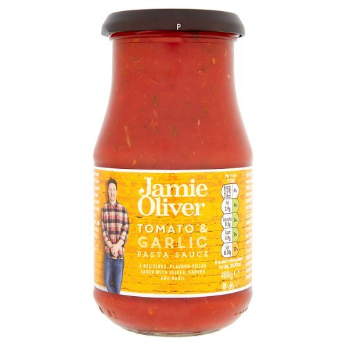 Jamie Oliver - Tomaten, Oliven & Knoblauch Pasta Sauce - 400g
