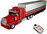 Camión Technic con Remolque, Camión Technic a Control Remoto con Contenedor con Piezas Compatibles con Lego Technik-11900