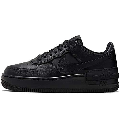 Nike Damen Air Force 1 Shadow Laufschuh, Schwarz, 39 EU