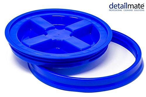 detailmate GritGuard Gamma Seal Eimerdeckel blau passend für Grit Guard Wash Buckets Eimer, passend für Meguiar´s