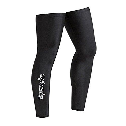 Colorful Beinlinge Wadenbandage Sonnenschutz UV-Schutz Leg Sleeves Radfahren Joggen Herren Damen (XXL)